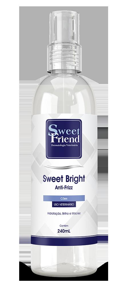 Anti-Frizz e Brilho instantâneo – Novo Sweet Bright – Sweet Friend - 240mL