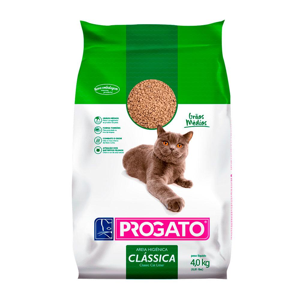Areia Higiênica para Gatos - ProGato Clássica