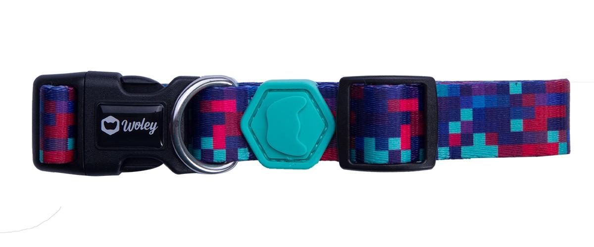 Coleira para Cachorro Woley - Pixel