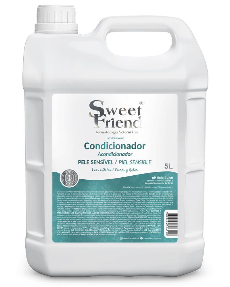 Condicionador Pele sensível – Adultos e Filhotes – Sweet Friend 5 litros