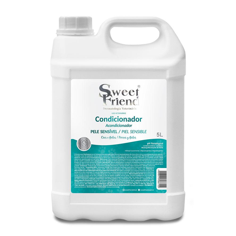 Condicionador Pele sensível  Adultos e Filhotes  Sweet Friend 5 litros
