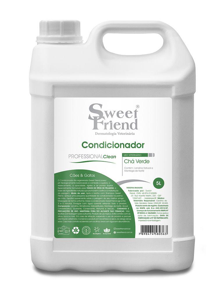 Condicionador Professional Clean Chá Verde Sweet Friend - 5 Litros