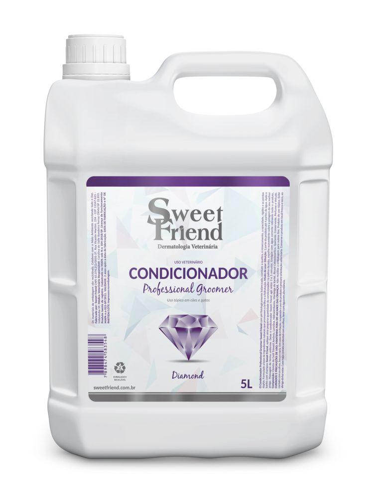 Condicionador Sweet Friend Professional Groomer Diamond - 5 Litros