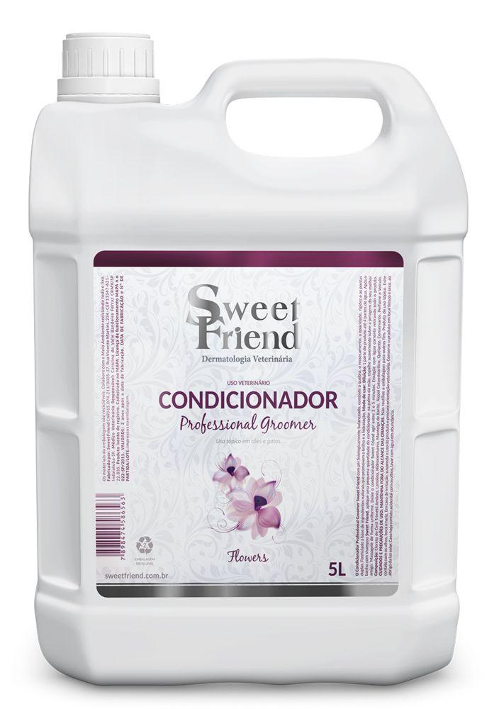 Condicionador Professional Groomer Flowers – Sweet Friend - 5 Litros