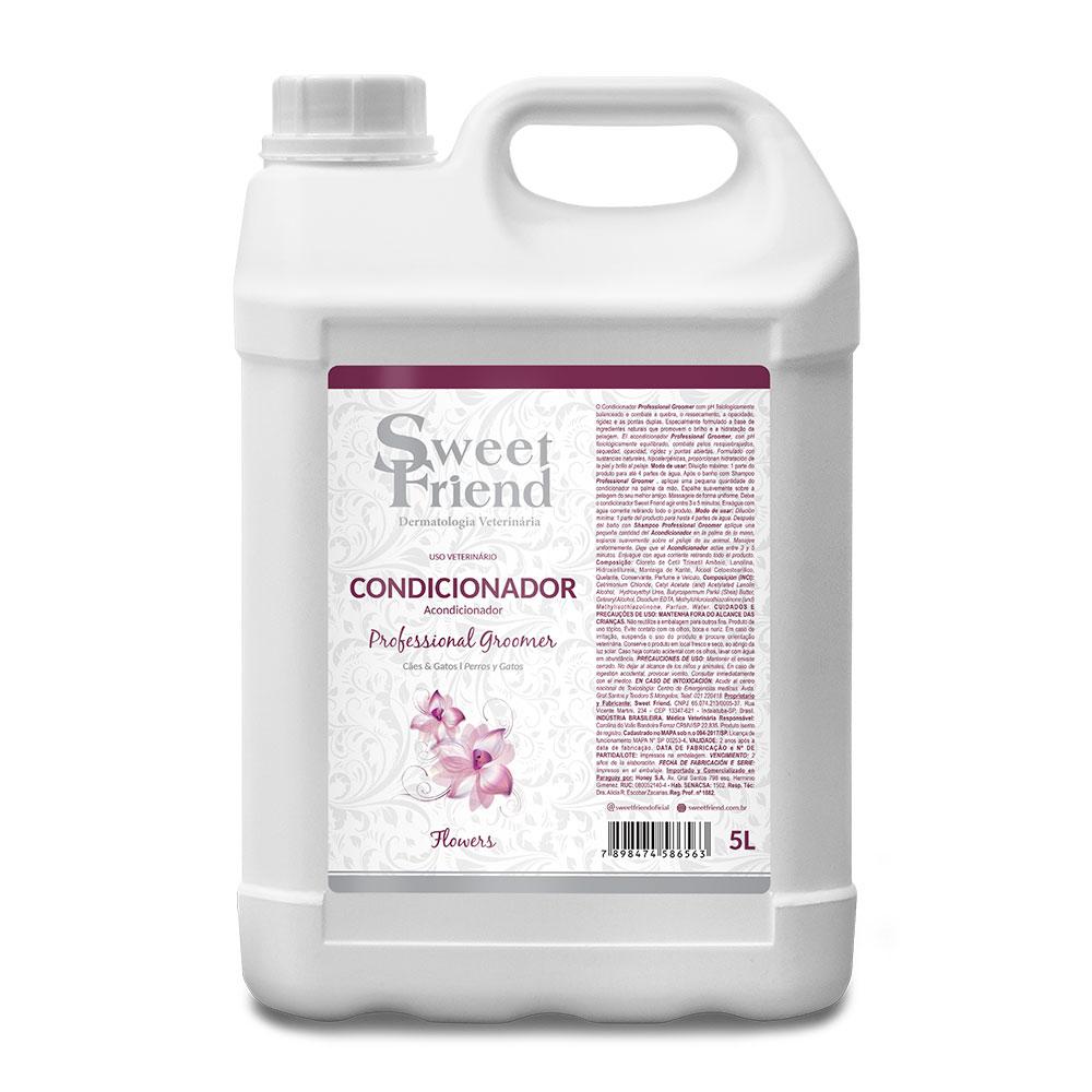 Condicionador Professional Groomer Flowers  Sweet Friend - 5 Litros