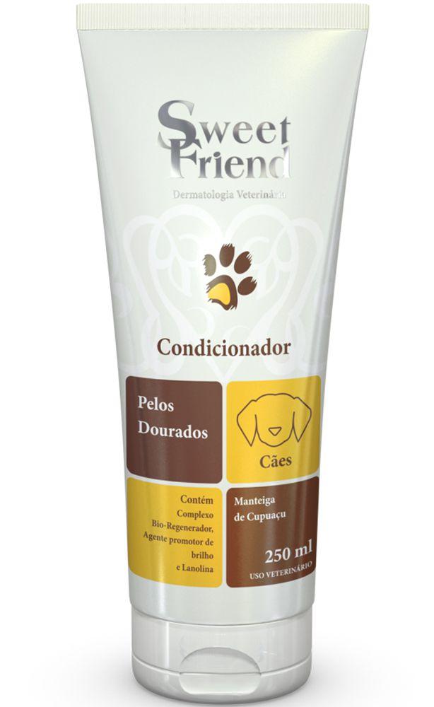 Condicionador Sweet Friend Intensive Care Pelos Dourados para Cachorro - 250ml