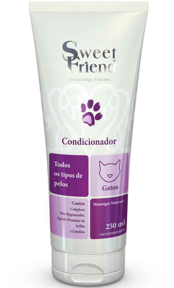 Condicionador Sweet Friend Intensive Care Todos tipos de Pelo para Gatos - 250ml