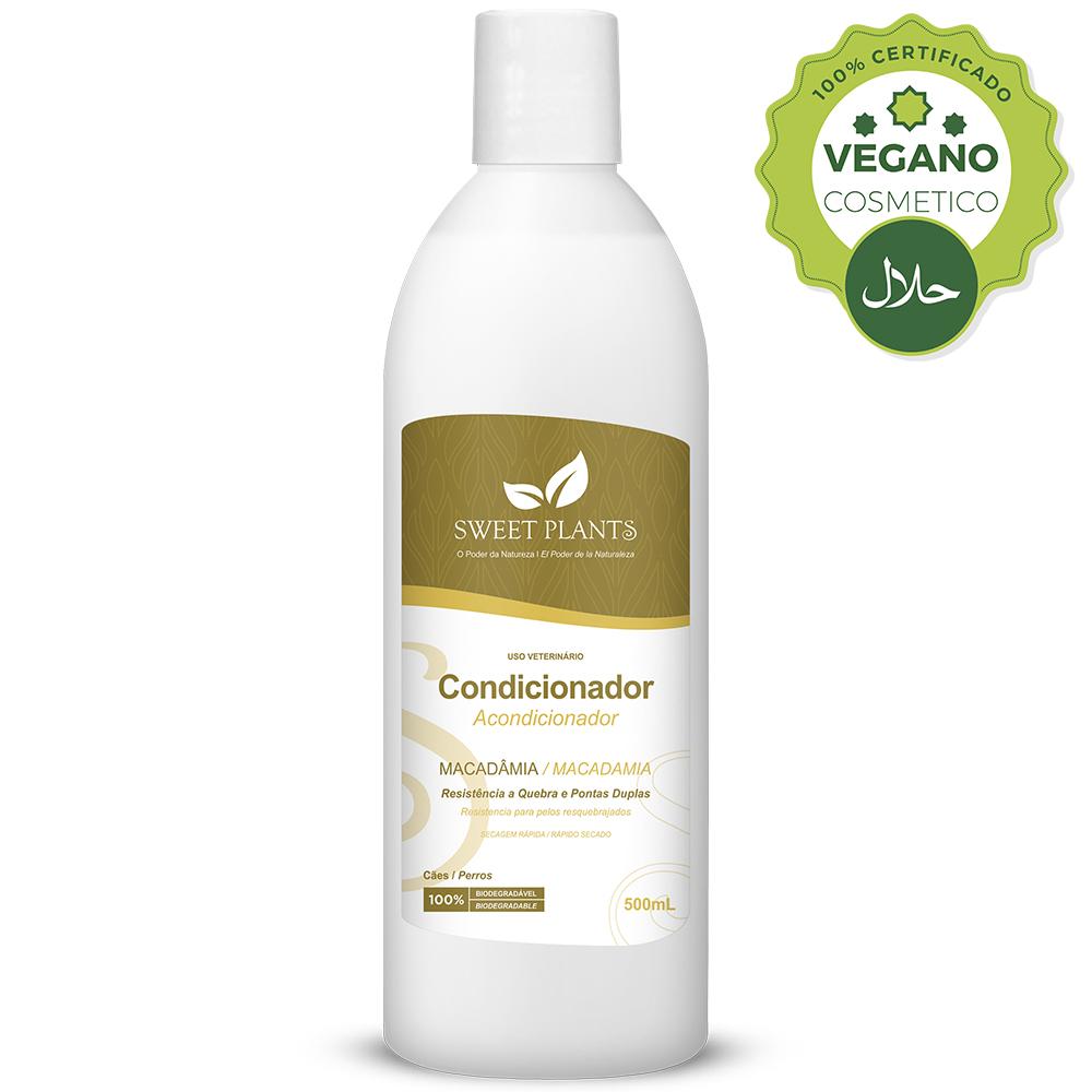 Condicionador Sweet Friend Macadâmia para Cachorro - Sweet Plants 500ml