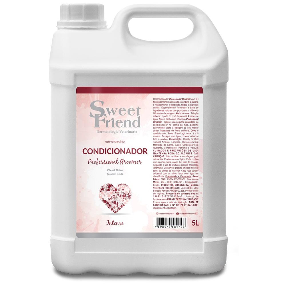 Condicionador Sweet Friend Professional Groomer Intense - 5 Litros