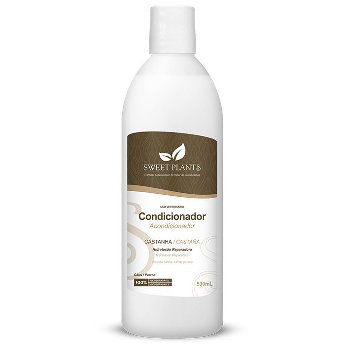 Condicionador Sweet Friend Castanha para Cachorro - Sweet Plants 500ml