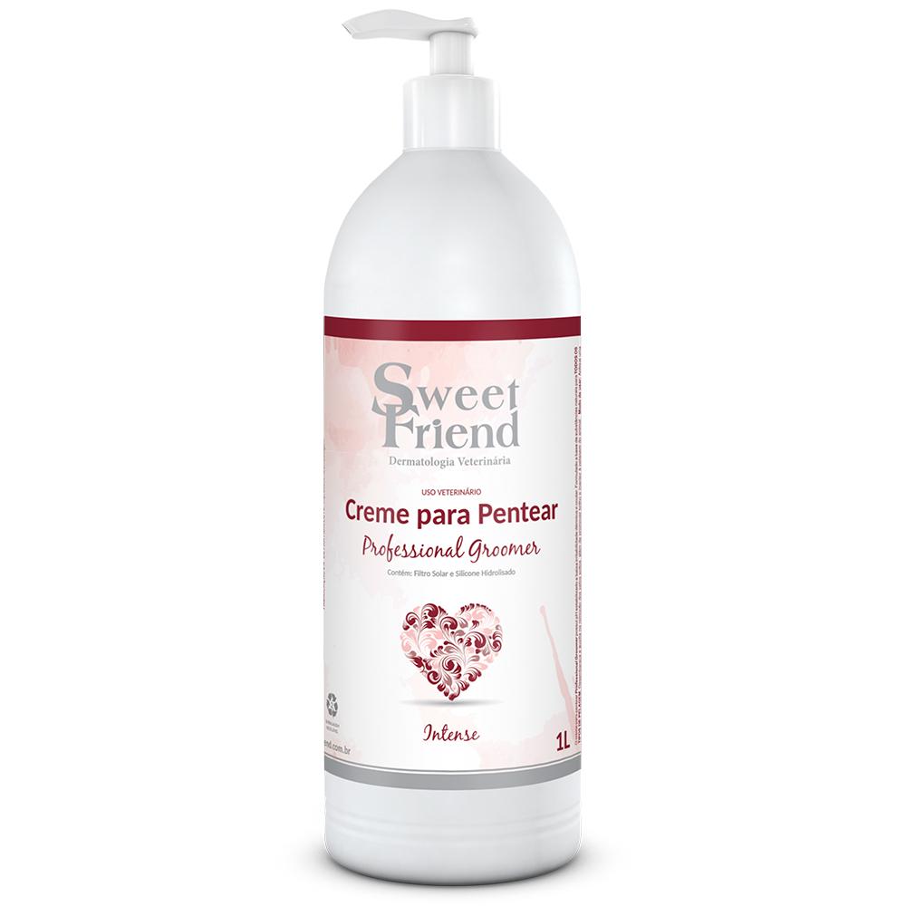 Creme para Pentear Professional Groomer Intense  Sweet Friend - 1 Litro