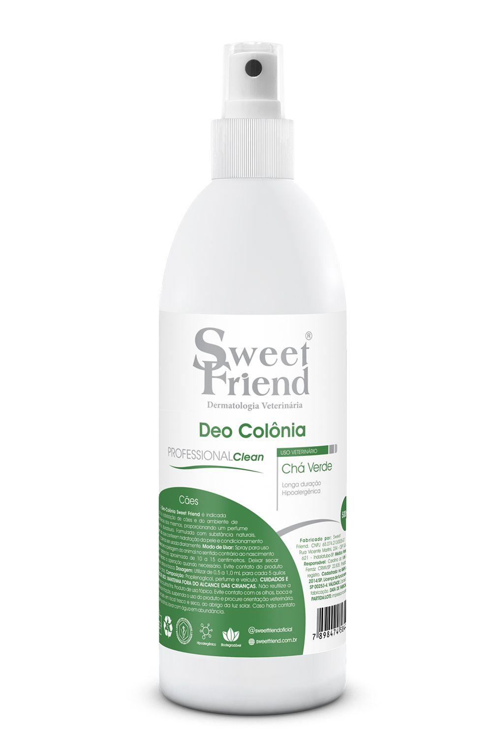 Perfume Sweet Friend - Chá Verde - Deo-Colônia Cachorro 500mL
