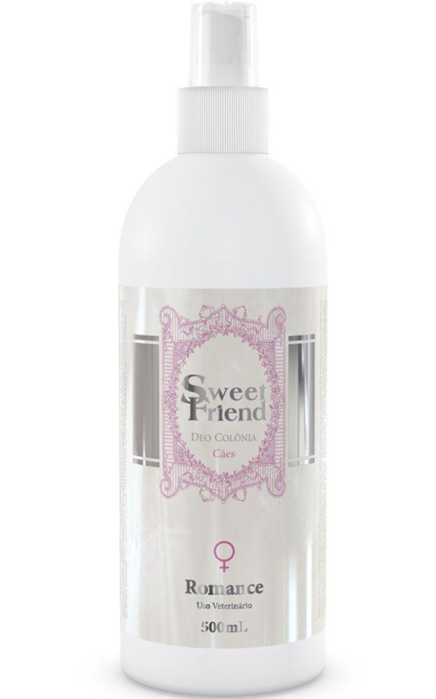 Perfume Sweet Friend - Feminina – Deo-Colônia Cachorro 500ml