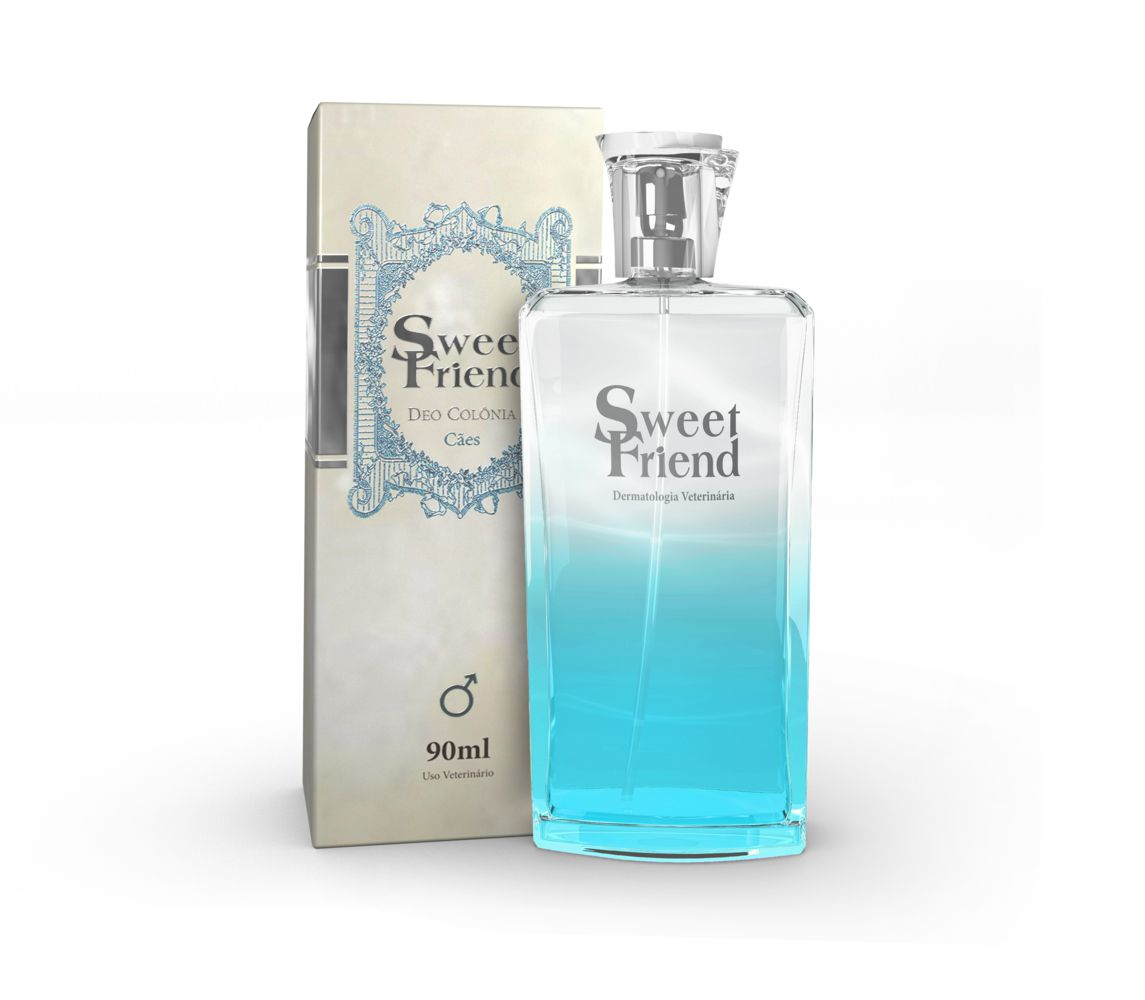 Perfume Sweet Friend - Masculina – Deo-Colônia Cachorro 90mL