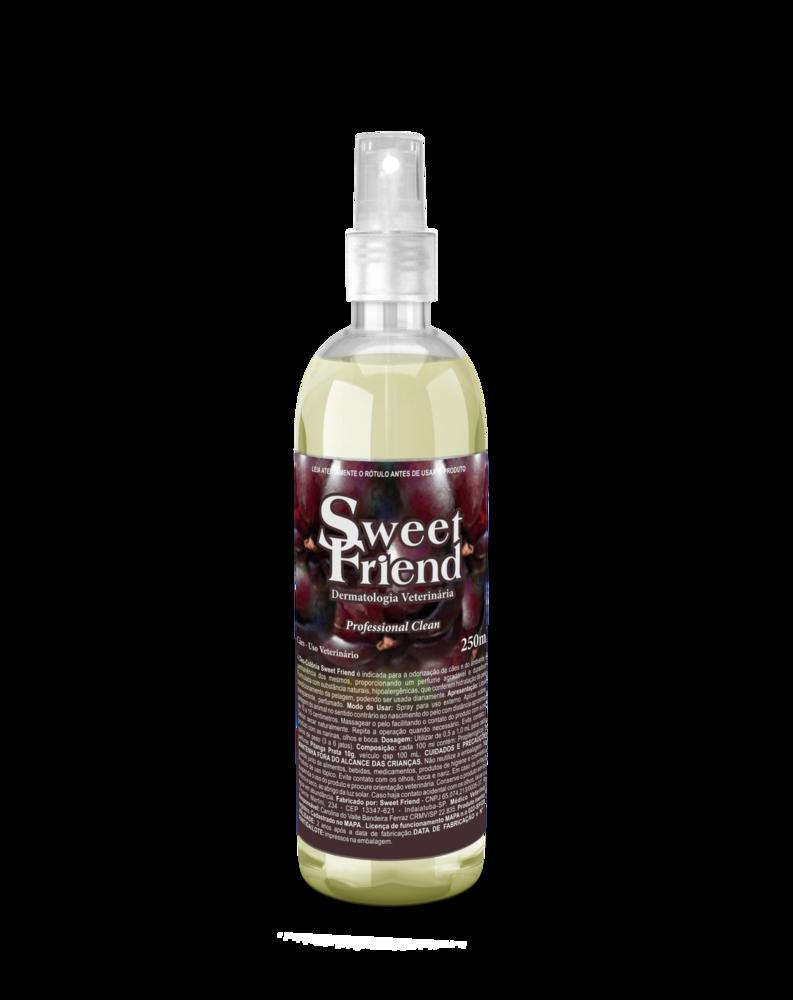 Perfume Sweet Friend - Pitanga Preta - Deo-Colônia Cachorro 250mL
