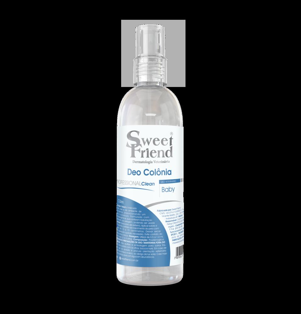 Perfume Sweet Friend - Professional Clean Baby - Deo-Colônia Cachorro 250ml
