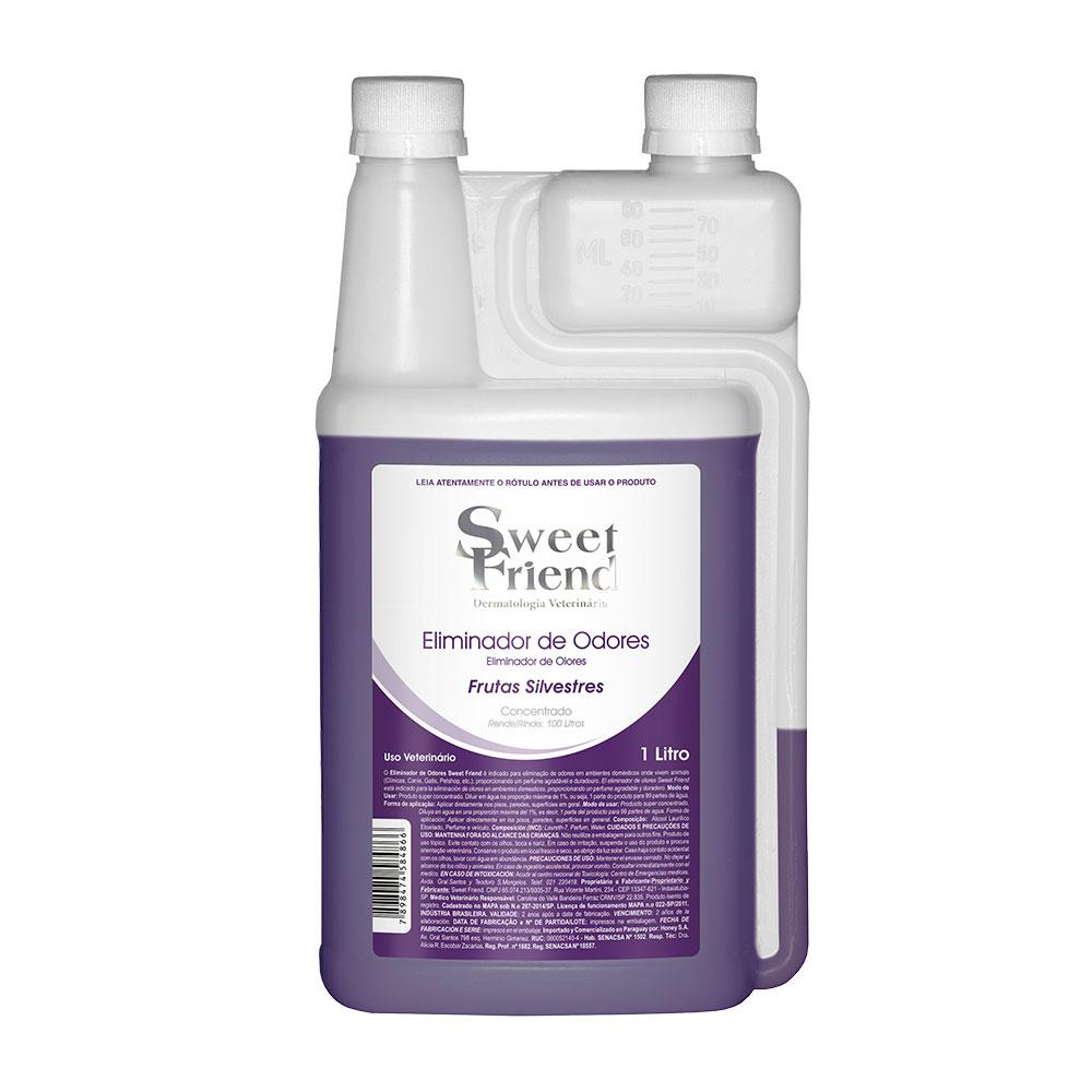 Eliminador de Odores Sweet Friend - Frutas Silvestres 1 Litro (Rende 99 litros)