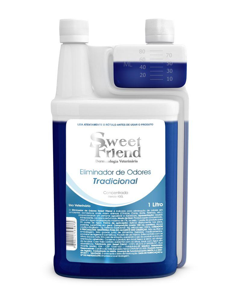 Eliminador de Odores Tradicional (Rende 99 litros) - Sweet Friend 1 Litro