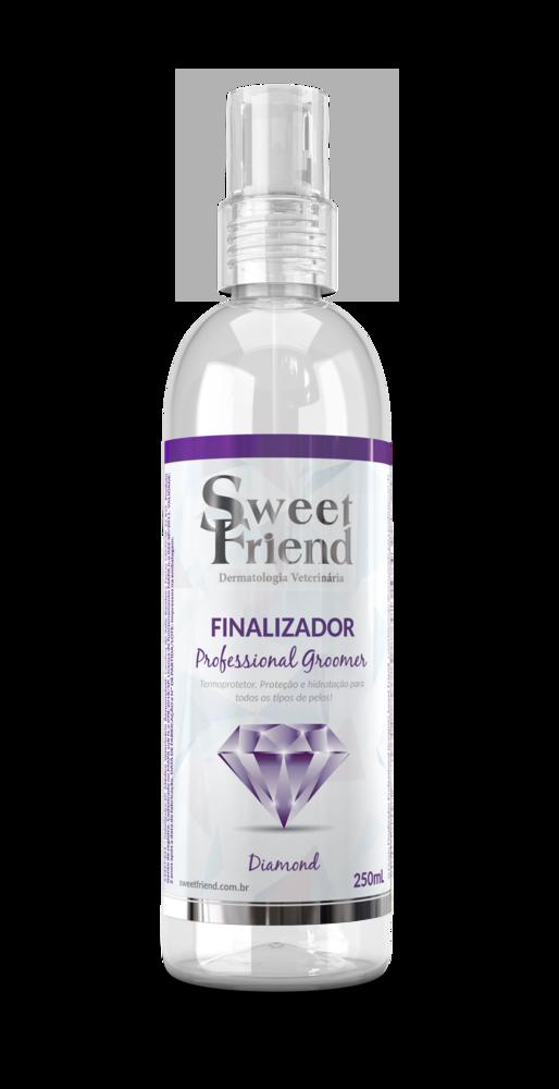 Finalizador Termoprotetor Sweet Friend - Professional Groomer Diamond – Sweet Friend – 240ml
