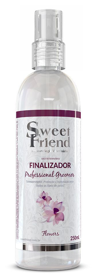 Finalizador Termoprotetor Professional Groomer Flowers – Sweet Friend – 250ml