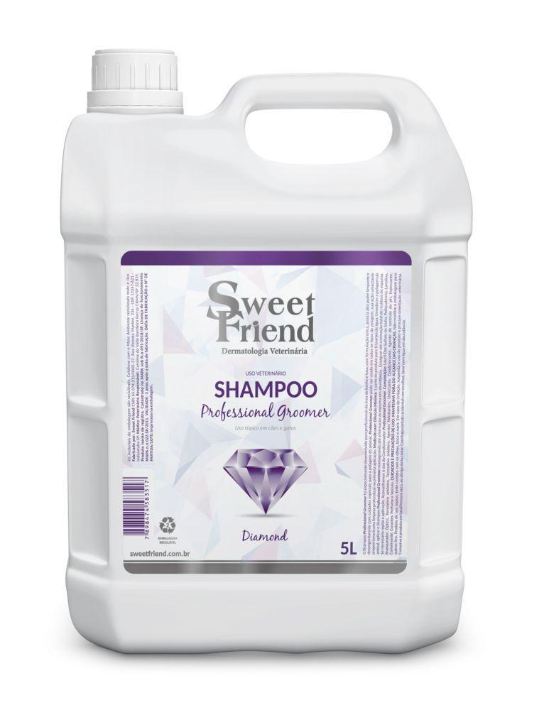 Kit Shampoo, Condicionador e Deo-Colônia - Professional Groomer Diamond - Sweet Friend