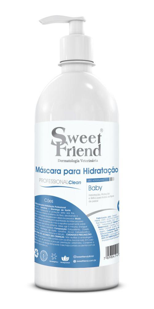 Máscara para Hidratação Professional Baby Sweet Friend - 500ml