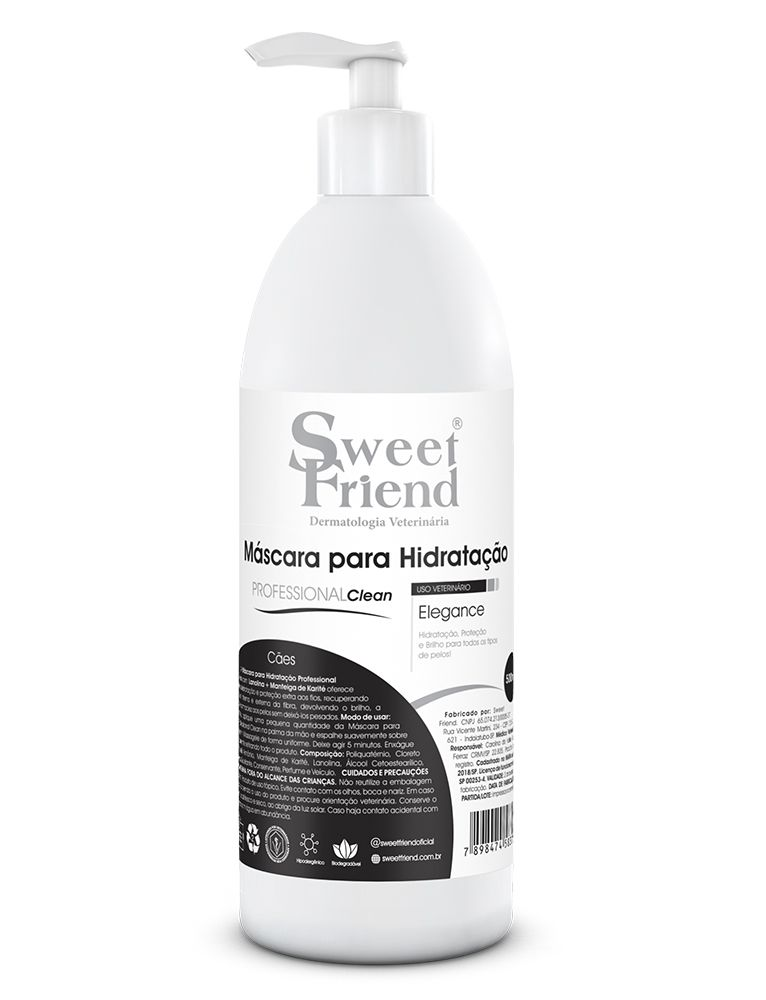 Máscara para Hidratação Elegance Sweet Friend - 500ml