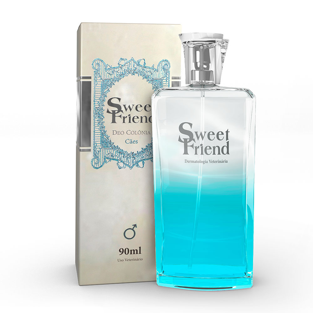 Perfume Sweet Friend - Masculina  Deo-Colônia Cachorro 90mL