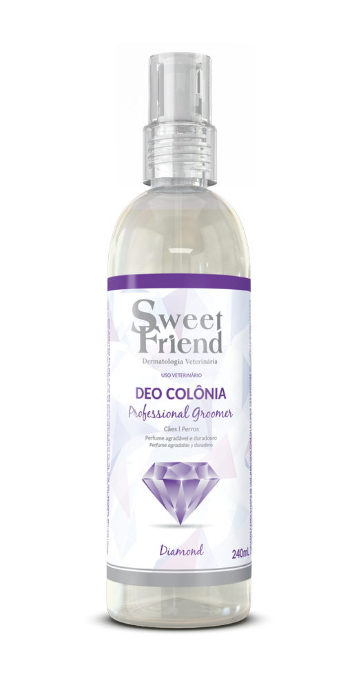 Perfume Sweet Friend - Professional Groomer Diamond - Deo-Colônia Cachorro 240ml