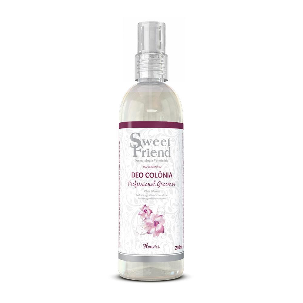 Perfume Sweet Friend - Professional Groomer Flowers - Deo-Colônia Cachorro 240ml