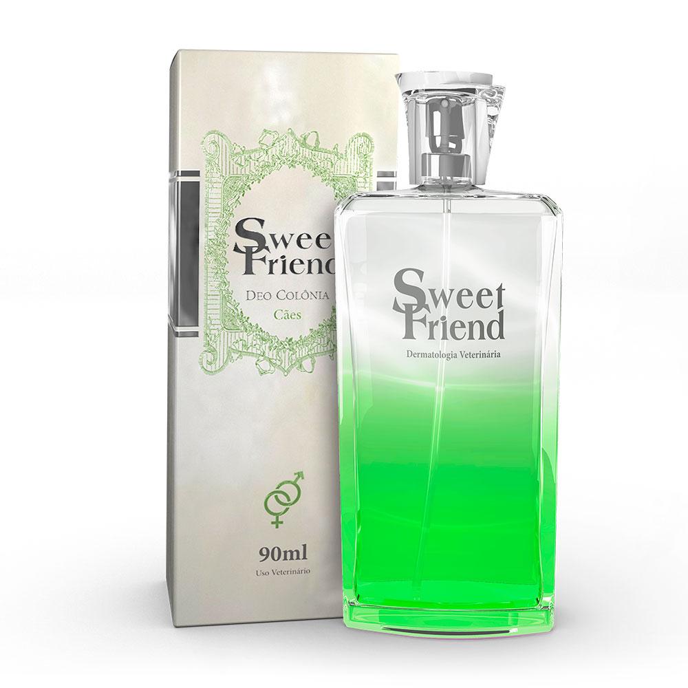 Perfume Sweet Friend - Unissex - Deo-Colônia Cachorro 90mL