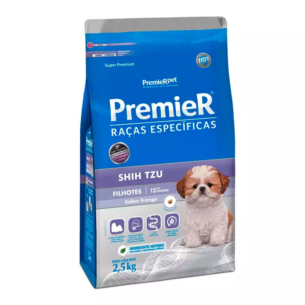 Ração Premier para Cães Filhotes Shih Tzu 1kg