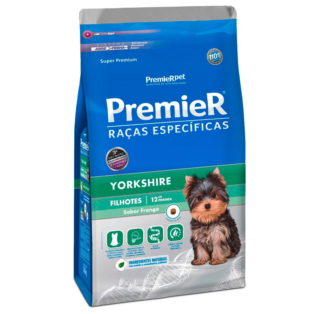 Ração Premier para Cães Filhotes Yorkshire 2,5kg