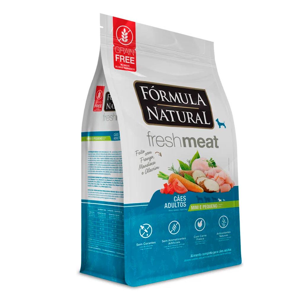 Ração Seca Fórmula Natural Fresh Meat Cães Adultos Raças Mini e Pequena Sabor Frango 1kg
