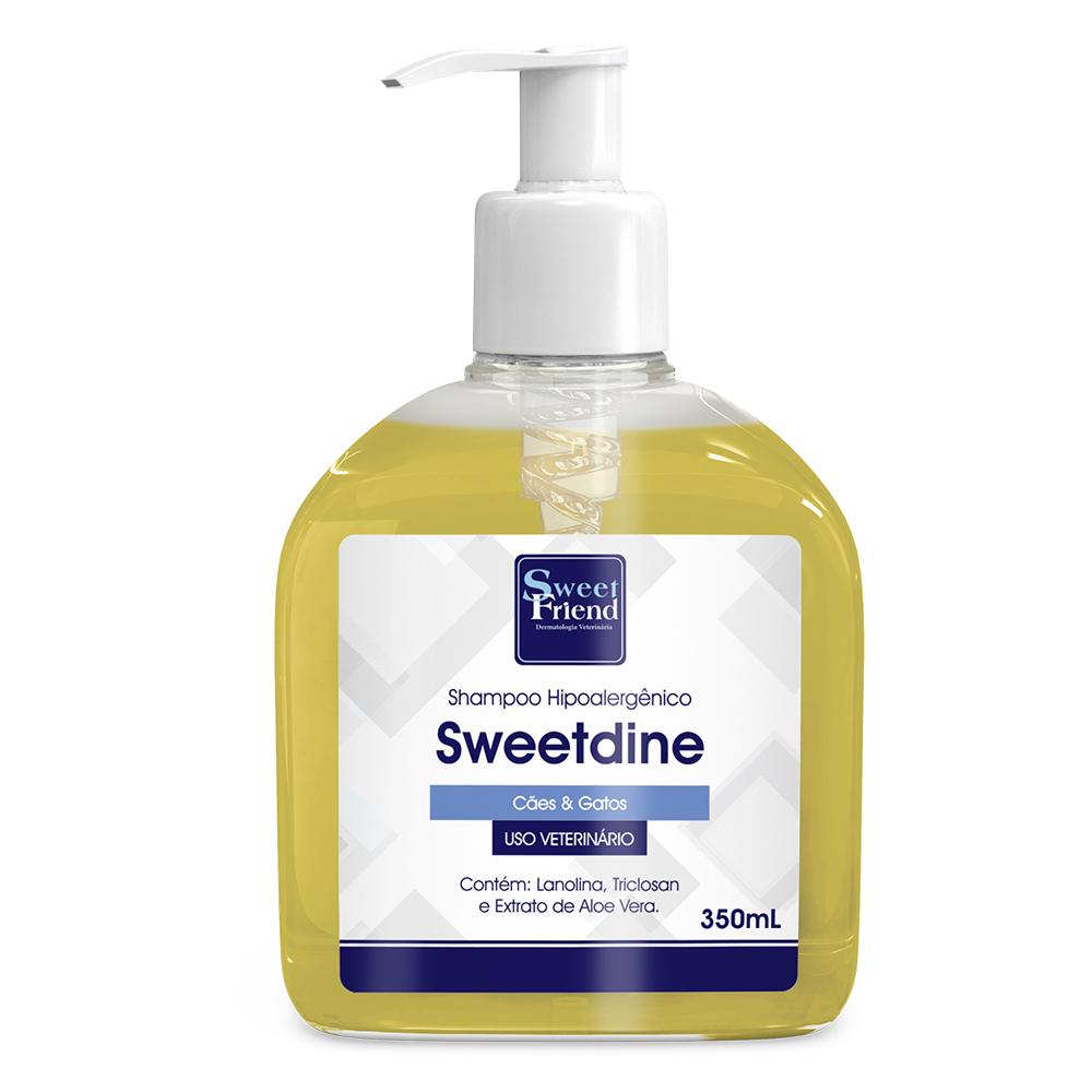 Shampoo Hipoalergênico Sweet Friend - Sweetdine Cachorro e gato 350ml
