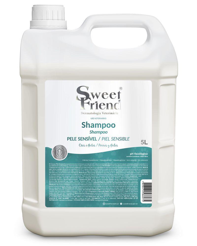 Shampoo Pele sensível – Adultos e Filhotes – Sweet Friend 5 litros