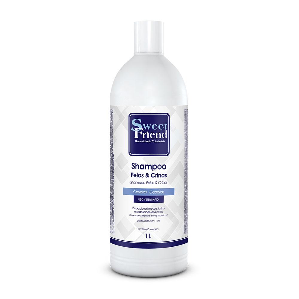 Shampoo Pelos e Crinas - Cavalos - Sweet Friend 1 Litro