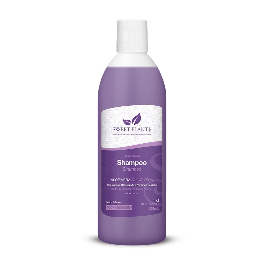 Shampoo Sweet Friend Aloe Vera para Gatos - Sweet Plants 500ml