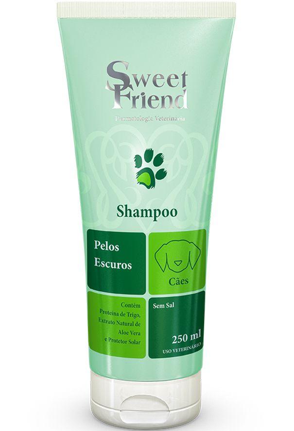 Shampoo Sweet Friend Intensive Care Pelos Escuros para Cachorro - 250ml