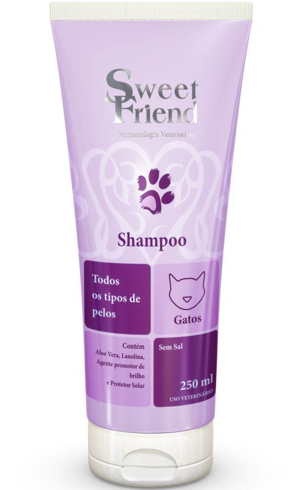 Shampoo Sweet Friend Intensive Care Todos tipos de Pelo para Gatos - 250ml