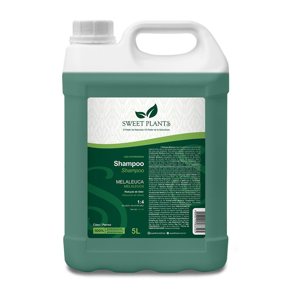Shampoo Sweet Friend Melaleuca para Cachorro - Sweet Plants 5 Litros