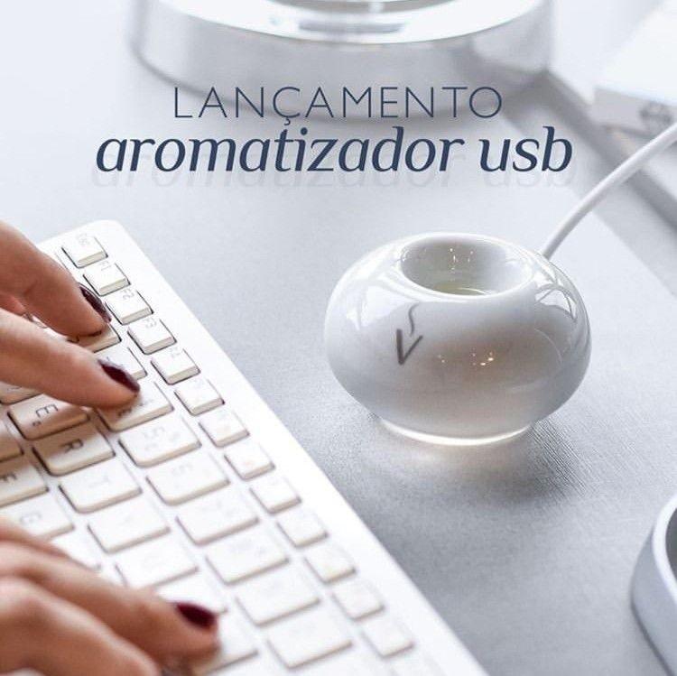 AROMATIZADOR DE AMBIENTE USB (DIFUSOR DE PORCELANA)