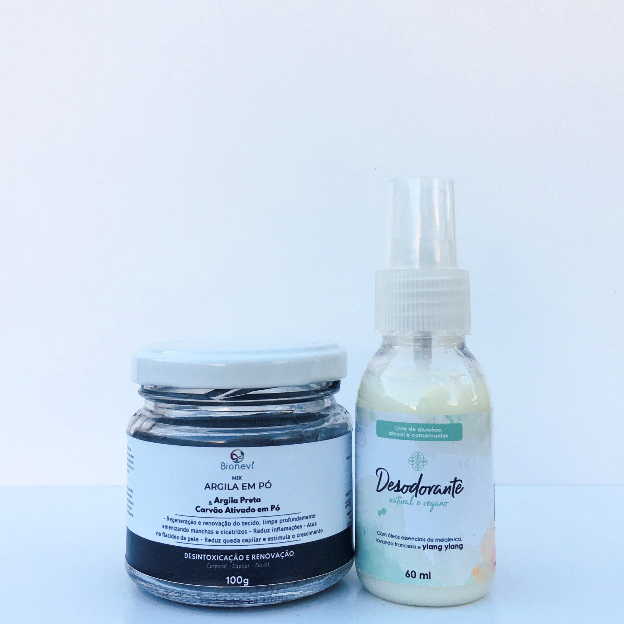 KIT DETOX DESODORANTE NATURAL - LAVANDA