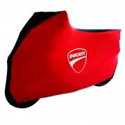 Capa Para Moto DualColor Ducati Tam. G (permeavel)