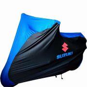 Capa Para Moto DualColor Suzuki Tam. M (permeavel)