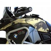 KIT Adesivos Protetor Tanque BMW F800 Gs Adventure - CINZA