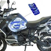 KIT Adesivos Protetor Tanque BMW R1200 Gs Adventure - AZUL