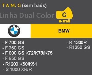 Capa Para Moto DualColor Bmw Tam. G (permeavel)