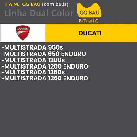 Capa Para Moto DualColor Ducati Tam. GG (permeavel)