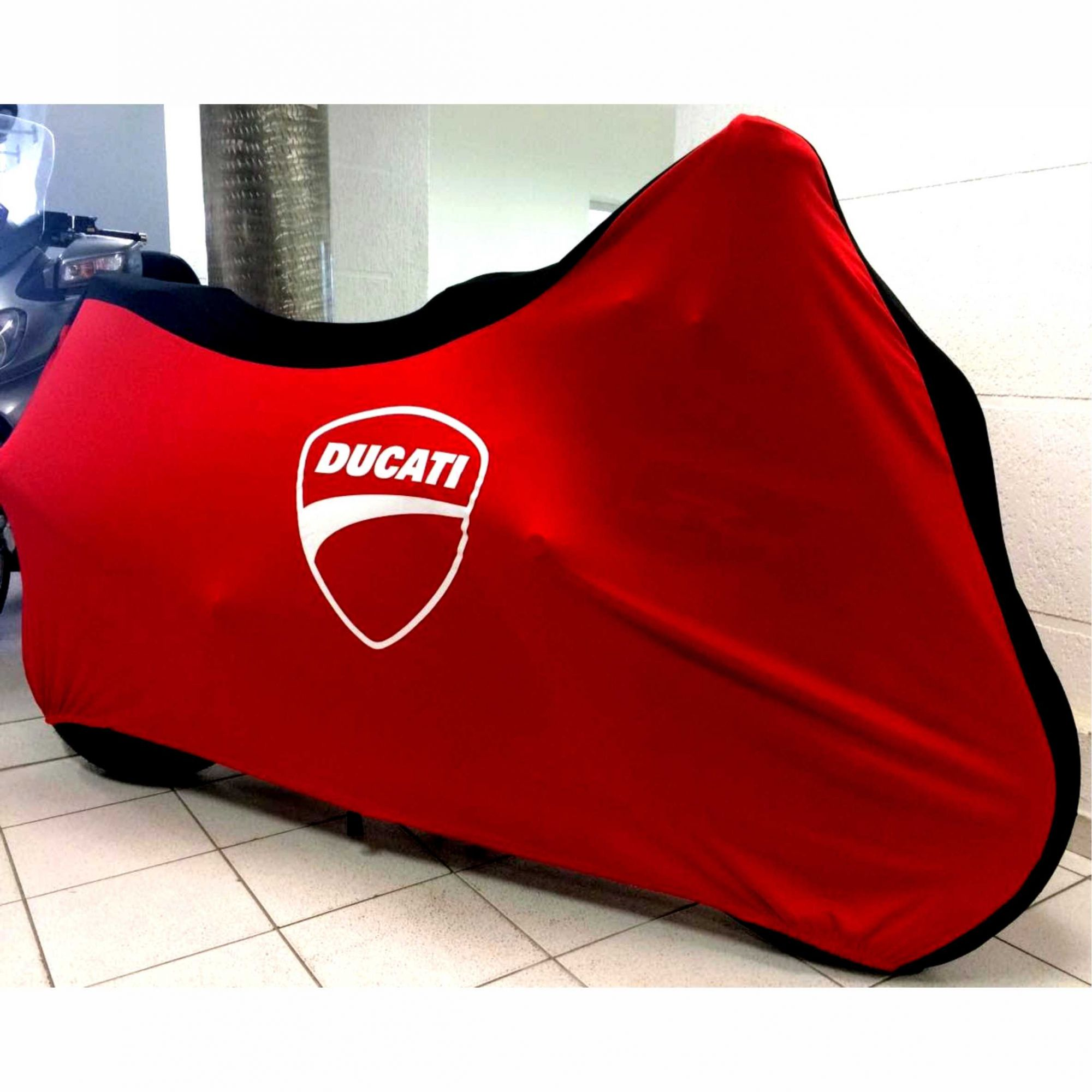 Capa Para Moto DualColor Ducati Tam. M (permeavel)